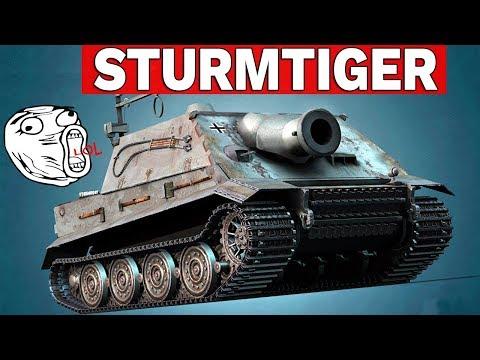 STURMTIGER - 380 MM RAKIETA