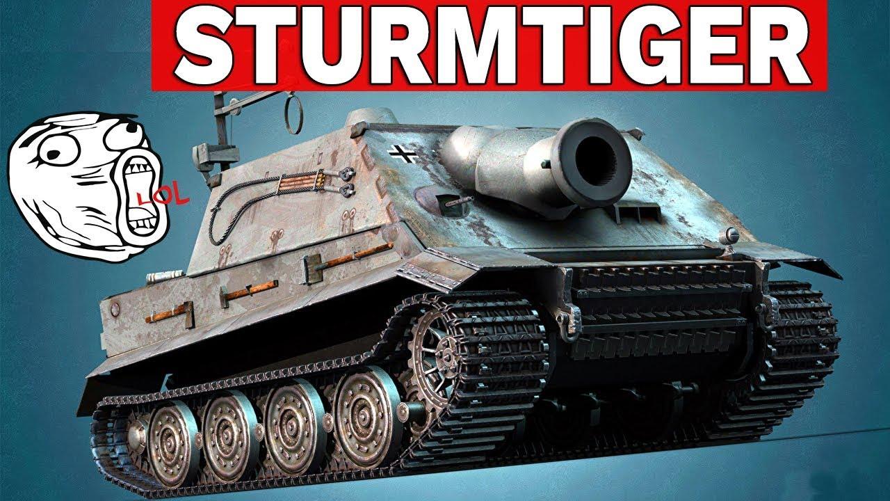 STURMTIGER – 380 MM RAKIETA