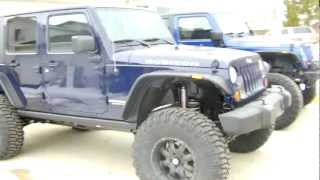 "2013 Jeep Wrangler Rubicon with 6"" X-series suspension lift"