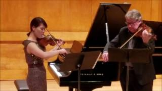 Vicky Hyunjin Lee- Bartok Duet for Two Vioilns with Philip Setzer