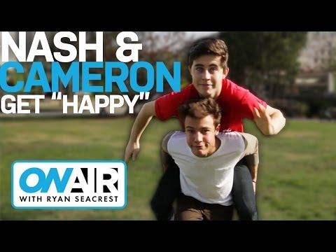 "Nash Grier & Cameron Dallas Dance To ""Happy"" 
