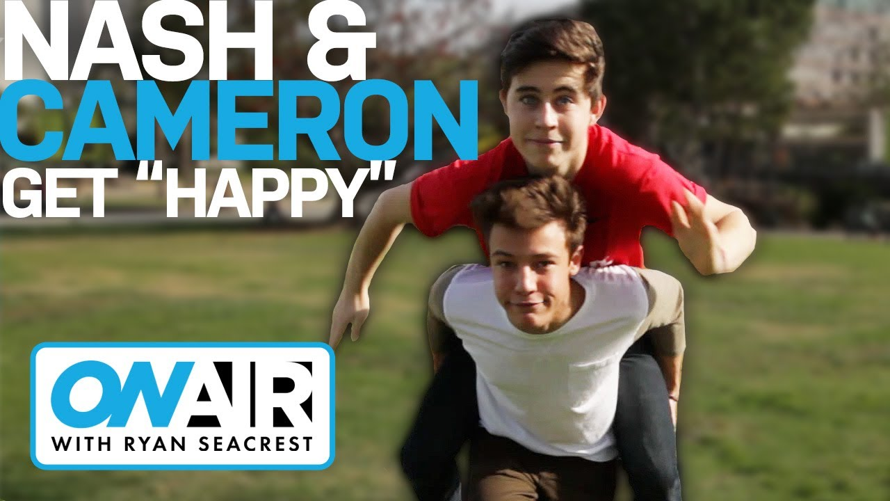 Nash Grier Cameron Dallas Dance To Happy On Air With Ryan
