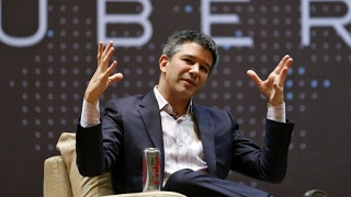 Uber boss buckles under pressure, quits Trump's business advisory panel