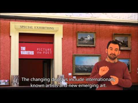 Introduction to the Harris Museum (BSL signed)