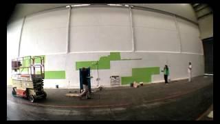 Murales artisticos y pintura decorativa para Naves Industriales