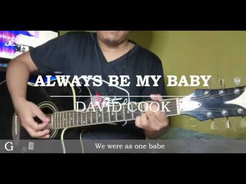 David Cook - Always Be My Baby (Guitar Chords)