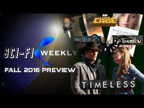 Fall 2016 Sci-Fi Media Preview | Sci-Fi Weekly