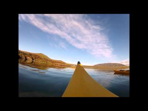 Canoeing adventure in iceland - Gopro Hero