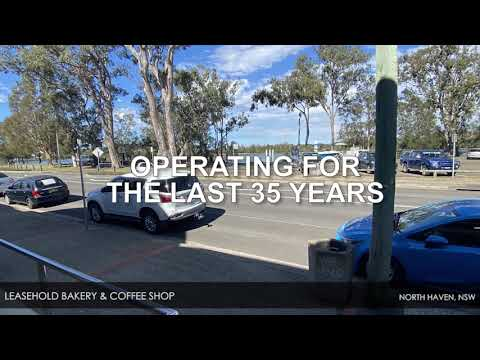 Long-established Bakery and Coffee Shop – North Haven NSW