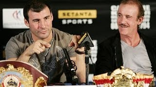 Enzo Calzaghe interview: