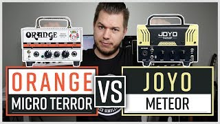 Orange Micro Terror vs Joyo Meteor