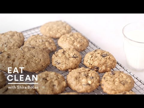 Whole Grain Oatmeal Raisin Cookies - Eat Clean with Shira Bocar