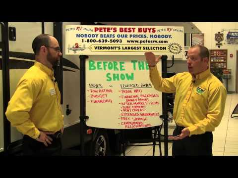Tips for Attending an RV Show | Pete's RV Buyer Tips (CC)
