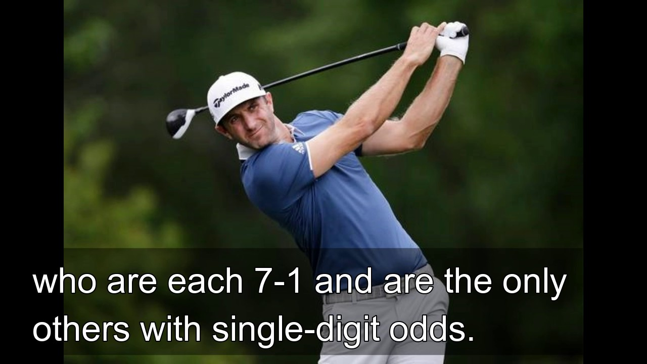 Dustin Johnson Is Favored at a Major Again. Just Watch the Stairs.