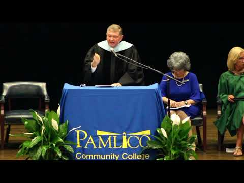 2019 Pamlico Community College Commencement ceremony