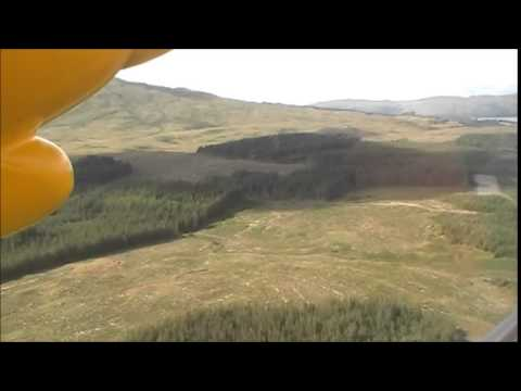 An Aeroplane ride with Hebridean Air Services