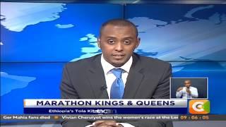 Kipchoge, Cheruiyot win London Marathon