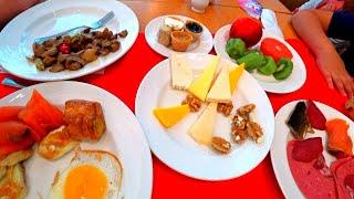 Приехали в Calista Luxury Resort и прям с сумками побежали на завтрак тестировать люкс Турция Белек
