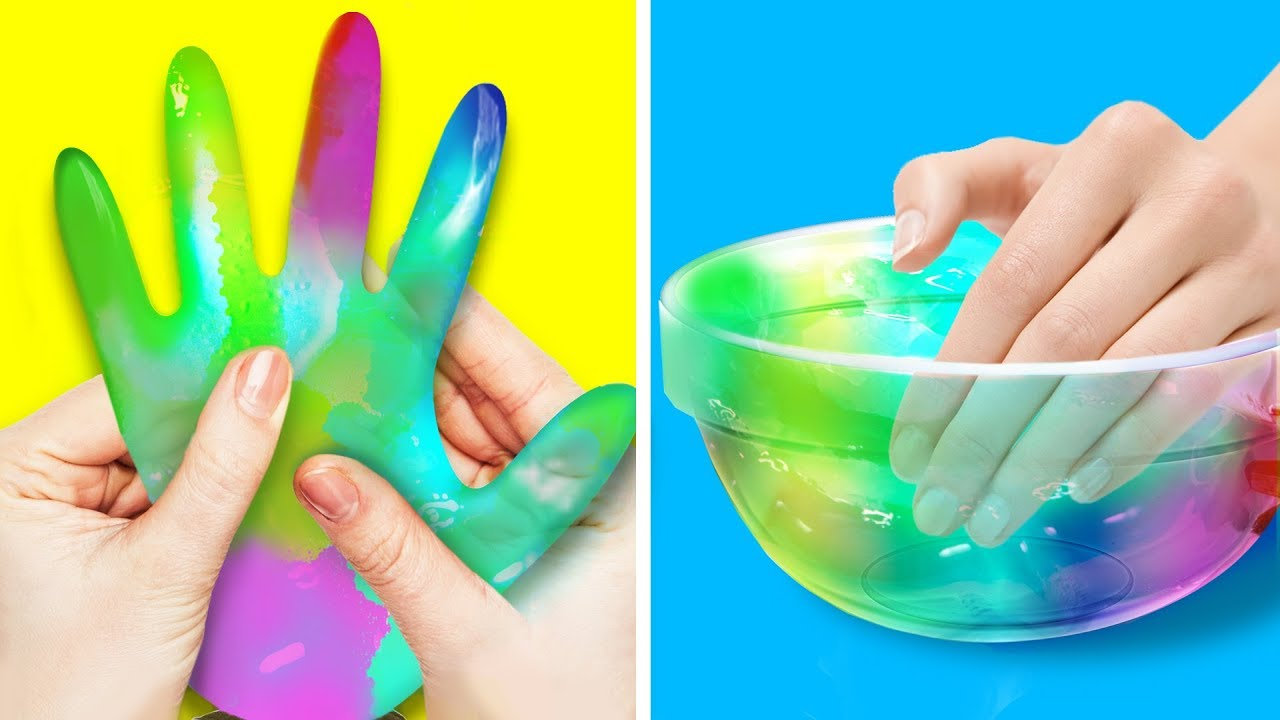 12 Stunning Colorful Crafts For Kids Youtube