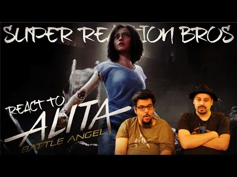 SRB Reacts to Alita: Battle Angel | Official Trailer