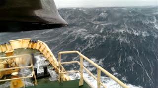 Crazy Storms In The North Atlantic Ocean