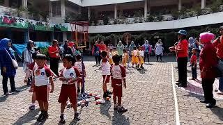 Lomba bola keranjang final (TK. Permata)