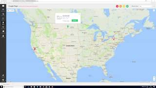 How to integrate google maps in OpManager?