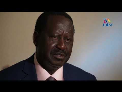 NASA leader confident he will be 5th president of Kenya