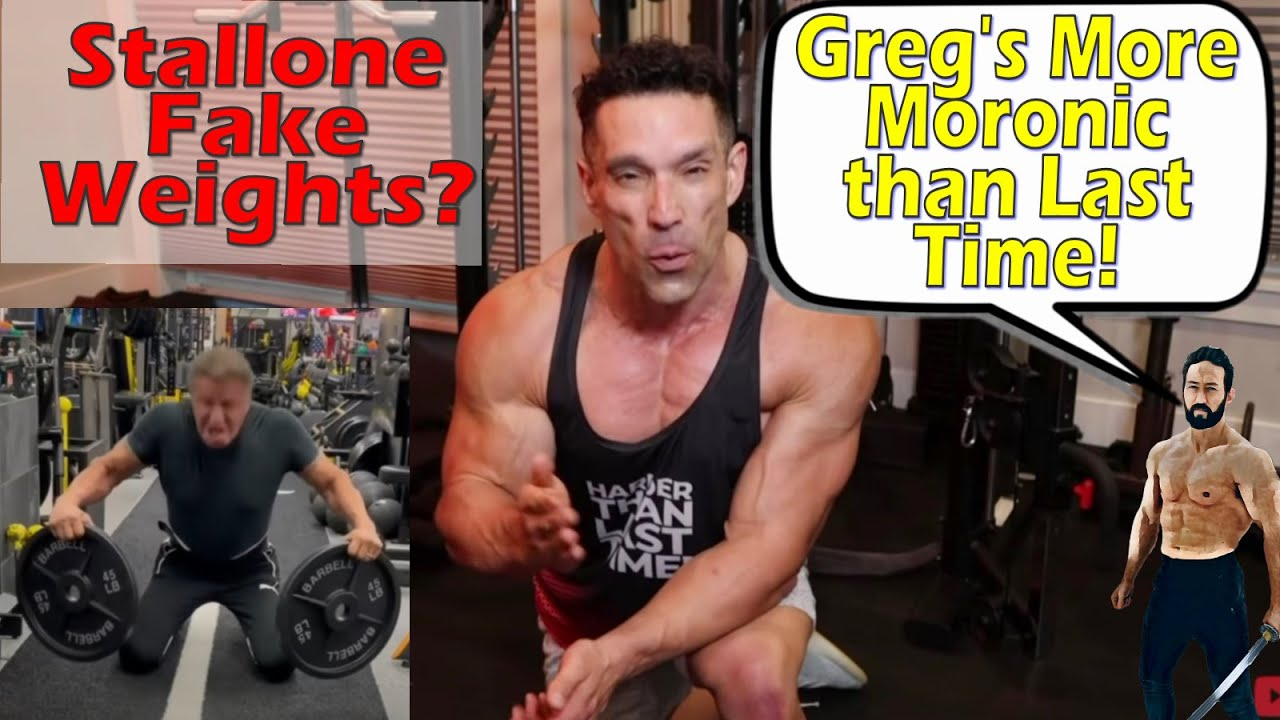 Download More Moronic Than Last Time! / Response to Greg Doucette's Stallone Fake Weight Challenge