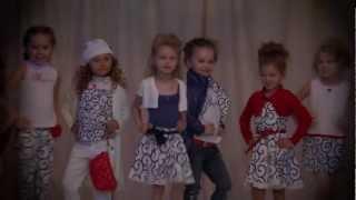 Показ коллекций детской одежды Gulliver Лето 2013