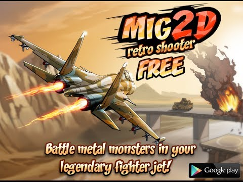 Mig 2D: Retro Shooter Trailer