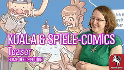 KUALA und Spiele-Comics | Teaser | Pegasus Spiele Home Office Edition