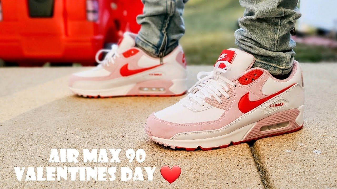 Air Max 90 Valentines Day / Love Letter 2021 Unboxing & On Feet