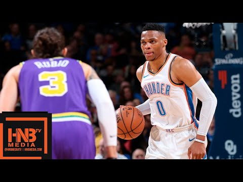 Oklahoma City Thunder vs Utah Jazz Full Game Highlights | 12.10.2018, NBA Season