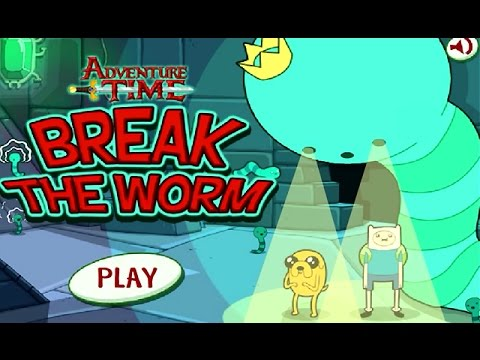 Adventure Time – BREAK the WORM: ICE KINGDOM (Cartoon Network Games)