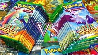Ouverture de 25 boosters Pokémon XY6 Ciel Rugissant - FULL ART EN FOLIE !