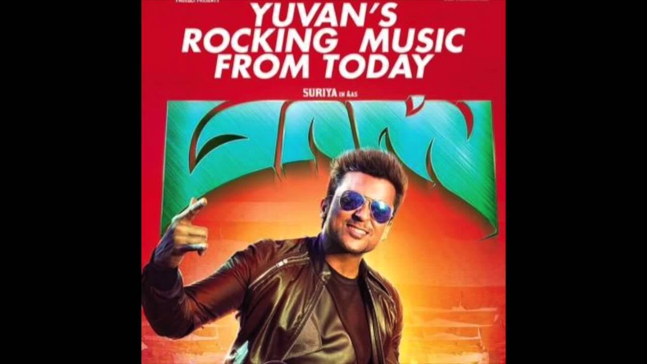 Masss Tamil Movie - Therikkudhu Masss Song - Premgi version Suriya & Nayanthara