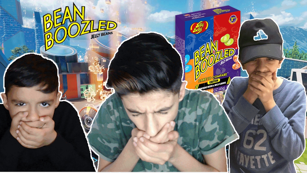 Black Ops 3 Hilarious Bean Boozled Challenge With Little Brother