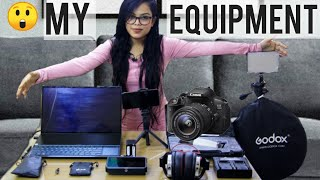 ⭐ My Equipment Gears I Use for My YouTube Video 😲😨😱