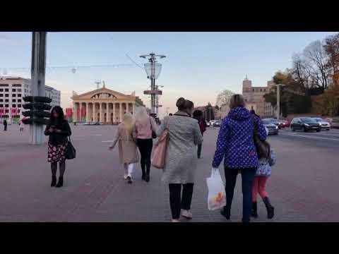 Minsk Belarus 初到明斯克