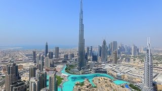 Top Of  Burj Khalifa -Aeriality