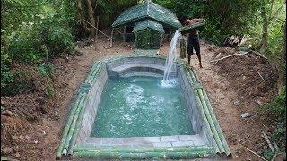 Unbelievable! Build Beautiful  Swimming Pool Around  Underground