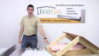 EcoFoil Attic Radiant Barrier Insulation Prep Thumbnail