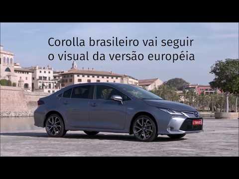 Toyota Corolla 2020 vai ganhar versão híbrida no Brasil