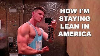HOW I STAY LEAN WHILE TRAVELLING | DAY IN THE LIFE |