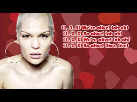Jessie J Alive lyrics