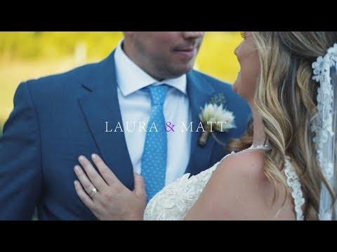 Laura & Matt | Saltwater Farm Vineyard Wedding Film | New England Creative