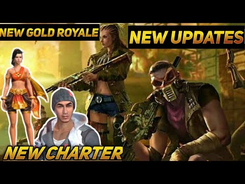 Free fire new update  new gold royal  new character  New elite pass  free fire #ndsgaming