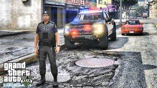 GTA 5 MODS LSPDFR 0.4.1 - EP 11 -  CITY PATROL!!! (GTA 5 REAL LIFE PC MOD) 1Hour
