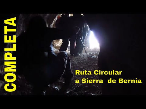 Ruta Circular A La Sierra De Bernia COMPLETO